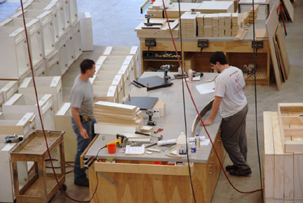 T&T Professional Services specialize in millwork, custom cabinetry and commercial casings.